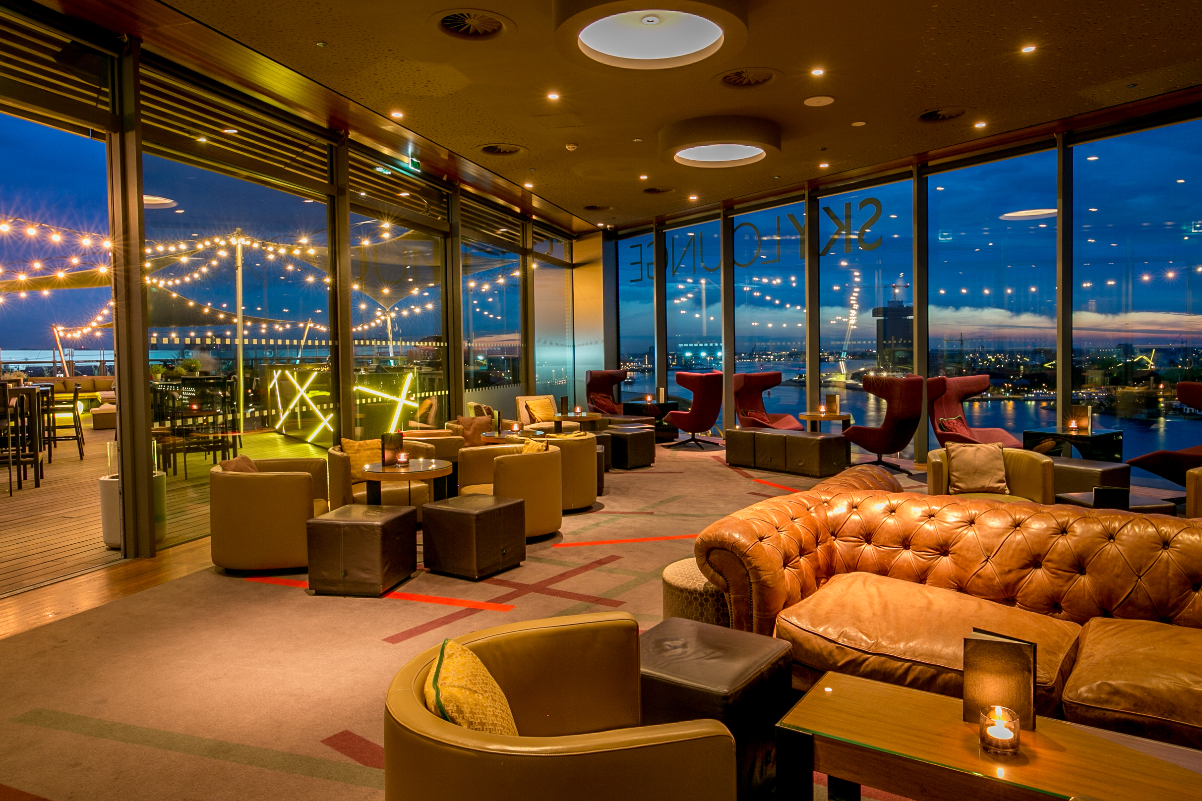 Skylounge amsterdam best hotel bar for W hotel in room dining menu